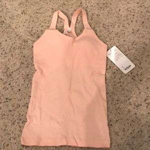 Lululemon Ebb to Street Tank light pink size 6